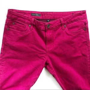 Kut from the Kloth Pink Toothpick Skinny Jeans 10